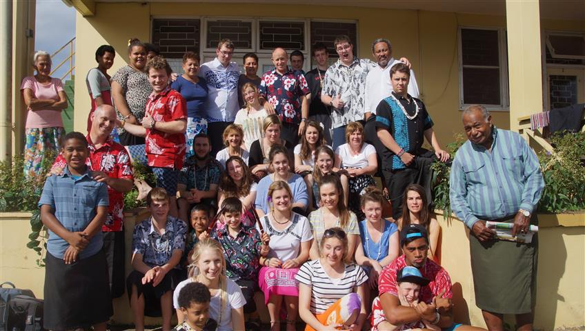 Vinaka. Thank you to all our families, friends, and especially our away from home family at the Bible College. Vinaka vakalevu.